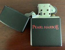 Pearl Harbor Movie Promo Zippo Lighter - never used, very rare!
