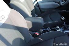Bracciolo poggiagomito per Fiat 500X tessuto color nero