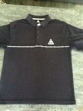 Stunning Genuine Mens Le Coq Sportif Polo Shirt in Navy and Size Medium