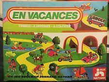 Timbres à imprimer En Vacances, Nathan, 1978 - Cavahel Vintage