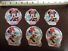 Disney Minnie Mouse Fabric Iron On Appliques - style # 10