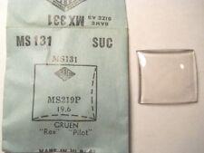 GRUEN PILOT RANGER REX 558 559 SUC MS131 GS MX331 Watch Crystal 2.19 x 1.96 mm