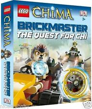 LEGO Brickmaster Legends of Chima Quest for Chi by DK w/2 minifigures & 96 pages