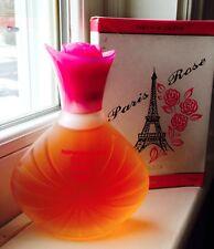 VHTF Paris Rose Parfum de Toilette 3 1/3 oz Womens Perfume Fragrance New!