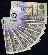 EGYPT  Lot of 10  Notes 50 Piastres 2006  UNC P 62