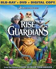 Rise of the Guardians (Blu-ray/DVD, 2013, 2-Disc Set,)