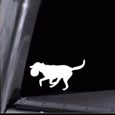 Frisbee Dog Stickers - Vinyl Decals for Car Window, Crate, etc. USA Seller! Dog2