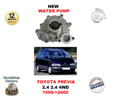 FOR TOYOTA PREVIA 2.4 2.4 4WD 2TZ-FZE 1990->2000 NEW WATER PUMP KIT