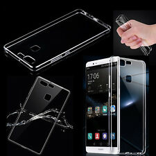 Clear Thin Soft TPU Case Cover for Huawei P7/8/9 Mate8 G8/G7 Plus Lite V8 Honor