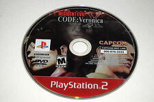 Resident Evil Code Veronica X Sony Playstation 2 PS2 Video Game Disc Only