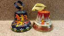 Collectible Hand Painted Brass Bell