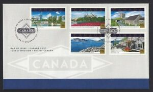Canada   # 1904    TOURIST ATTRACTION COMBO   Brand New 2001 Unaddressed Issue