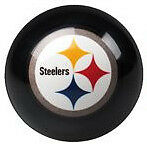 Pittsburgh Steelers Shift Knob Billiard Pool Ball Threaded Custom Shifter NFL