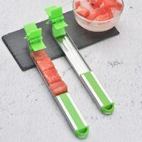 Wassermelonenschneider Zangen Corer Obst Gemüse Küchenhelfer Peeler F7D8