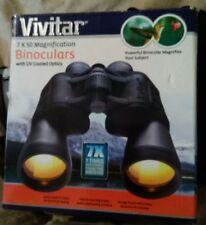 Vivitar Binoculars 7 x 50 Magnification with Uv Coated Optics