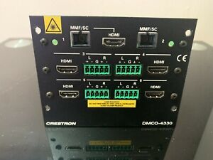 Crestron DMCO-4330  Output Card Module For DM Switchers