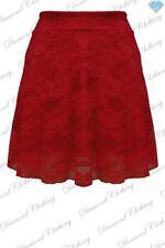 Polyester Party High Waist Short/Mini Skirts for Women