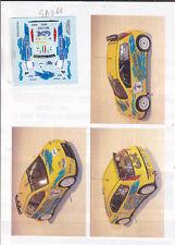 Decals 1/43e Fiat Punto S1600 Ciao Services Cerutti Valli Ossolane 2003