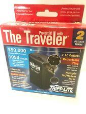 Tripp-Lite The Traveler 2 Retractable Ac Outlets Multiple Tel/Modem Jacks
