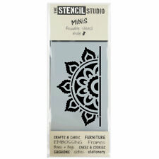 STENCIL MiNiS -Sunray Mandala - Furniture, Craft, DIY, Cake Decorating 10694