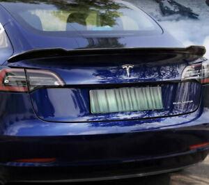 Tesla Model 3 - Carbon Fiber Rear Wing Spoiler Decoration Modification Kit