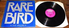 RARE BIRD ~ AS YOUR MIND FLIES BY ~ UK PINK SCROLL CHARISMA 1ST PRESS LP 1970