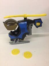 Imaginext BatCopter w/ Launcher BATMAN helicopter 2008 DC Super Friends vehicle