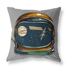 Astronomía espacial astronauta casco relleno amortiguador Cremallera Diseñador Gris