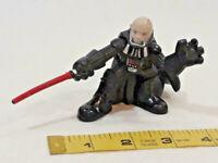 DARTH VADER 2007 LFL Galactic Heroes Hasbro Figure Unmasked ~ Ships FREE