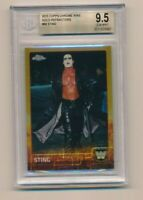 2015 Topps Chrome WWE Gold /50 Sting #89 BGS 9.5