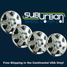 "'08-13 Dodge Grand Caravan Journey 16"" Chrome Hubcaps Wheel Covers 451-16C SET 4"