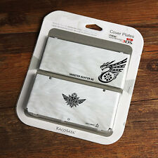 New 3DS Monster Hunter 4G Protector Case Cover Plates for NEW Nintendo 3DS Gray