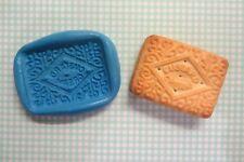 CUSTARD CREAM mould for Fondant, Polymer Clays, Sugar Paste, Cake Decorating