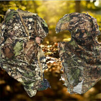 3D Camo Leaf Invisible Clothing Hat Woodland Hunting Jungle  Ghillie Suit