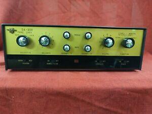 CALRAD SA-30B Stereo Tube Amp Tested & Works Great