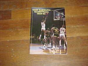 1984 East Carolina Pirates Basketball Media Guide