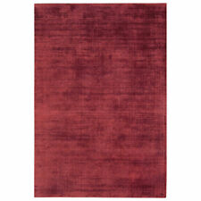 John Lewis Blade High Sheen Lustre Rug 170 X 120 Cm Berry Red