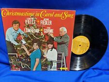"Leontyne Price & Arthur Fiedler LP ""Christmastime in Carol & Song"" RCA PRS-289"