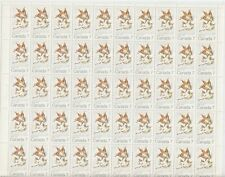 Canada Scott 538 MNH Stock Sheet - Maple Leaves, Winter