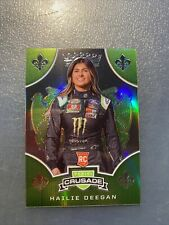 2020 Panini Chronicles Racing CRUSADE PRIZM card HAILIE DEEGAN