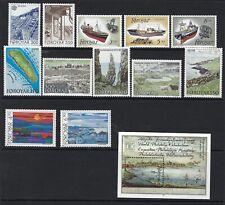 Faroe Islands, Sc# 156-168 Mnh, Cv $25.35, Lot 8-18-1