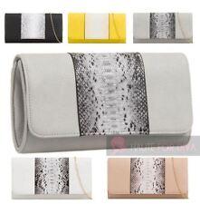 Unbranded Snakeskin Magnetic Snap Handbags
