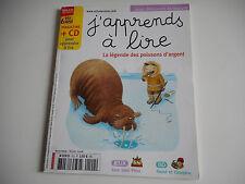 J'APPRENDS A LIRE - LA LEGENDE DES POISSONS D'ARGENT  FEV 2008 - (SANS CD)