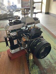 KONICA Degital Film camera Display