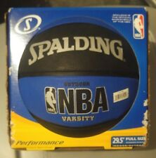 """Spalding Nba Varsity Outdoor Rubber Basketball, 2 Colors Size 29.5"""" Full size"""