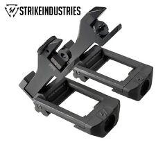 Strike Industries SIDEWINDER 45-Degree Flip-Up Sight Set Back Up Folding Sight