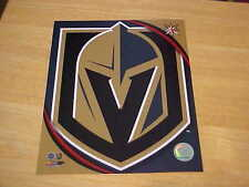 Las Vegas Golden Knights Offilcial Logo LICENSED 8X10 Photo FREE SHIPPING 3/more
