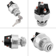 Universal Vehicle Ignition Starter Switch 2 Key Metal for Car Auto Truck Trailer
