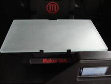 Light Weight Makerbot Replicator 2 TEXTURE GLASS BUILD PLATE UPGRADE 3D PRINTER