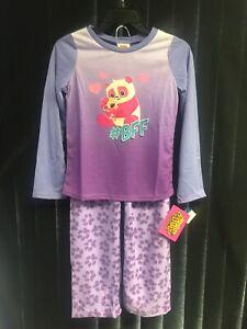 Pajama Animal Jam 2 Pc Set Kids Size 10-12